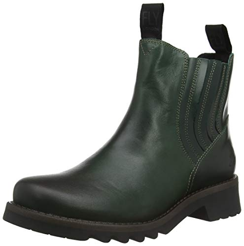 Fly London Damen Ralt541fly Chelsea Boots, Grün (Petrol 004), 37 EU