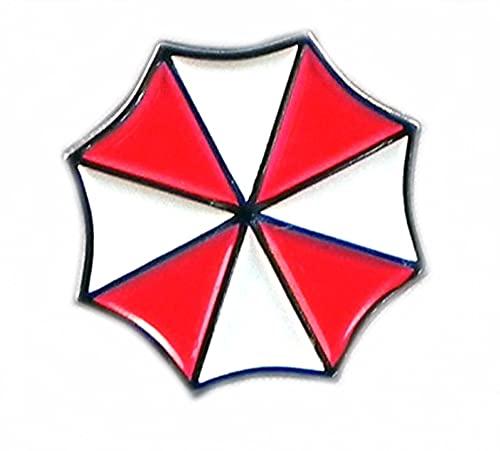 Resident Evil Umbrella Corporation Abzeichen zum Anstecken 20 mm Metall Emaille