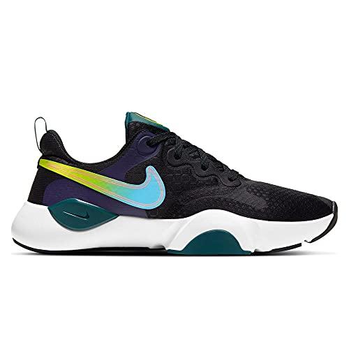 Nike SpeedRep Women's Training Shoe, Entrenador. Mujer, Black Lagoon Pulse Dk Atomic Teal, 38.5 EU