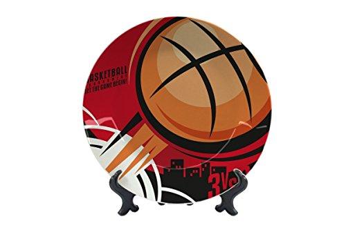 LEotiE SINCE 2004 Teller Sport Basketball Keramik Bedruckt