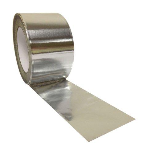 Yuzet - Cinta aislante de aluminio (75 mm x 45 m)