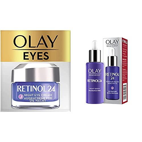 Olay Set Rutina Específica Noche Retinol24: Serum + Contorno de Ojos