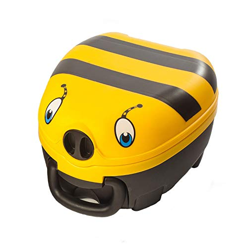 My Carry Potty - Bumble Bee Travel Potty, Award-Winning Portable Toddler Toilet Seat for Kids to...