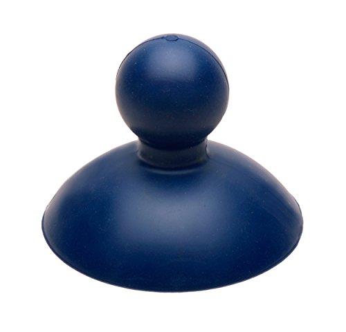 Power-Glocke, Pümpel, Saugglocke, Pömpel für Dusche, WC, Abflüsse und Waschbecken, sehr leistungsstark (Blau)