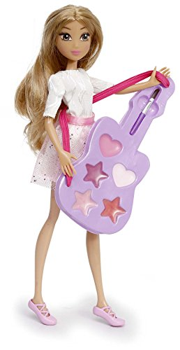 Violetta–4932–Puppe Ankleidepuppe mit Gitarre Make Up