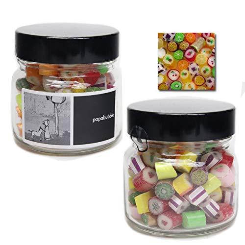 papabubble パパブブレ キャンディー 瓶タイプ170g フルーツMIX