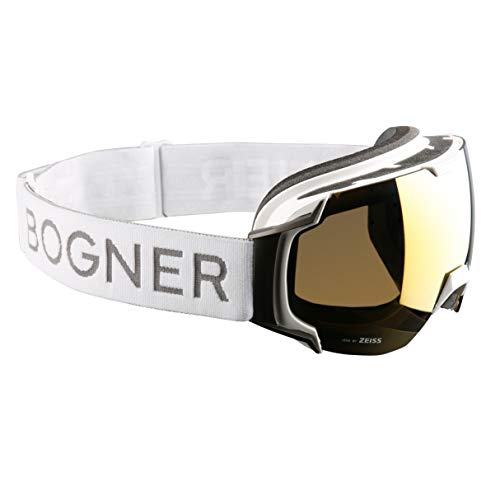 Bogner Snow Goggles Ski-Brille Just-B Gold | White Ruthenium