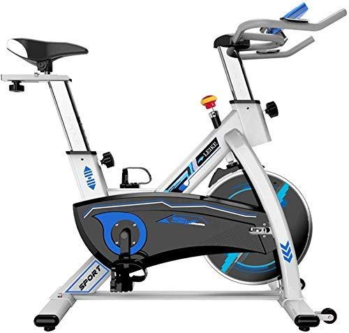 SXTYRL Indoor Bicicleta de ejercicio Spinning Ciclismo Bicicleta Estacionaria Pie Fitness Equipo Fortable Asiento Cojín para Entrenamiento en Casa