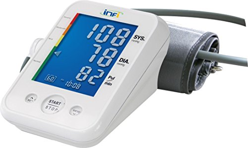 INFI INFI0001 Futura Tmb-995 3Rd Gen Digital Bp Monitor with Measurement During Inflation Technology (White)