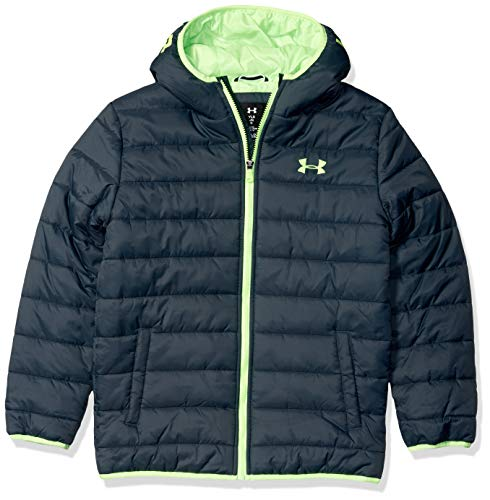 Under Armour boys Pronto Puffer Jacket, Wire F, Large US