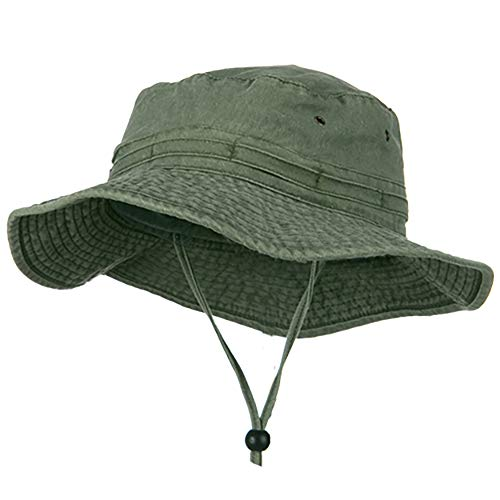 Extra Big Size Fishing Hats-Olive XL – 2XL Choice of color