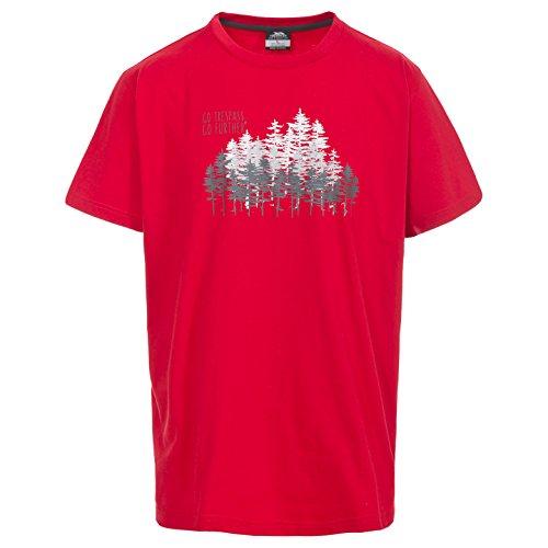 Trespass heren router T-shirt met opdruk