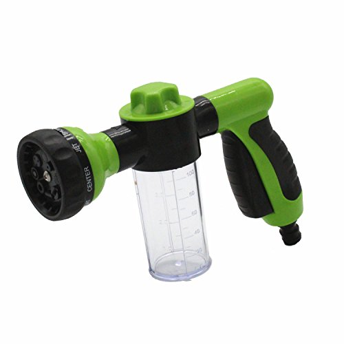 TAKPART Pressure Garden Hose Nozzle Foam Gun Car Wash 8 Pattern Adjustable...
