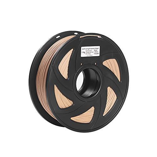 3D Printer Filament Wood + PLA 1.75mm 1kg Spool Dimensional Accuracy +/- 0.02mm