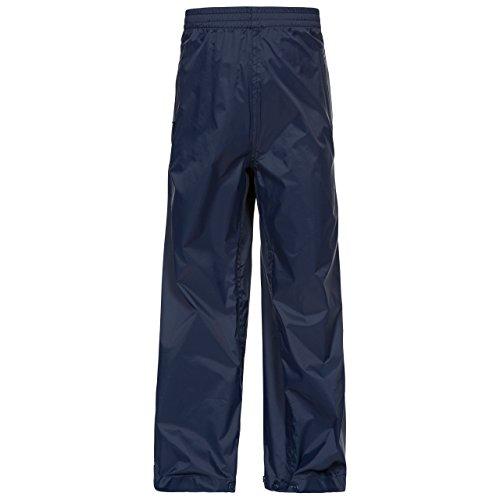 Trespass Qikpac Pant, Navy, 7/8, Kompakt Zusammenrollbare Wasserdichte Regenhose mit 3 Taschenöffnungen für Kinder / Unisex / Mädchen und Jungen / Jugendliche, 7-8 Jahre, Blau