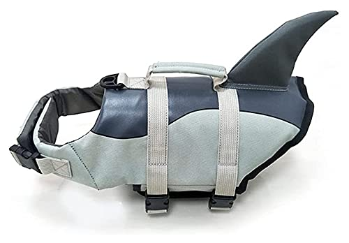 M3 Decorium Chalecos de Vida para Perros Pet flotación Vida Via Viaje Perro LIFEJE DE LA Perro Perro AYUDACION Ayuda con LOS Maneras para FÁCIL DE Rescate Ballena (Color : Whale, Size : M)
