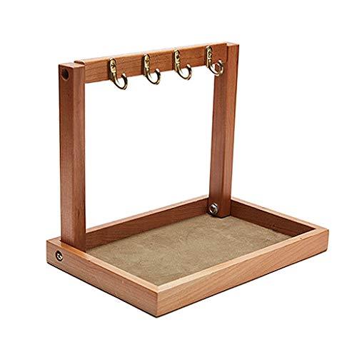 Baoblaze Organizador de correo y llavero organizador de escritorio de oficina en casa bandeja de almacenamiento para joyas, gafas, relojes, gafas de sol - 228x50x190mm