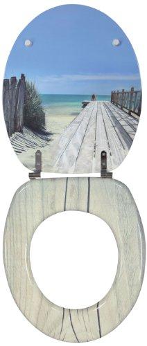 Wirquin 20719122 Trendy Line - Tapa para WC, diseño de playa