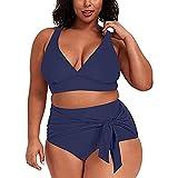 Bañadores Mujer Tallas Grandes Traje de Baño Mujer Verano Elegante Sexy Bikinis Mujer Push Up Braga Alta Brasileño Playa Natación Conjunto de Bañador Mujeres 2021 Baratas Ropa de Baño Sets