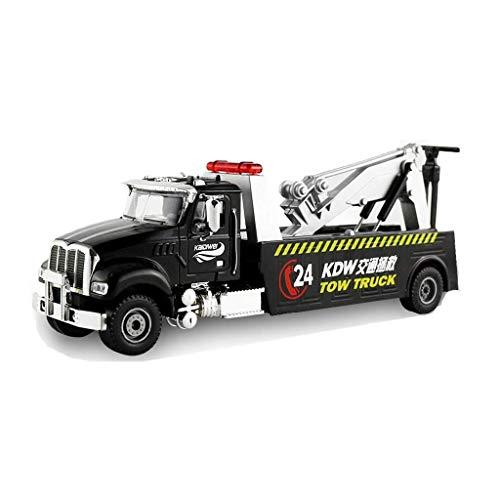 Modelo de automóviles 1:50 Aleación de ingeniería de vehículos modelo de vídeo de rescate de vendedores de rescate Modelo de remolque de automóviles Juguetes de niños Navidad Cumpleaños Regalo
