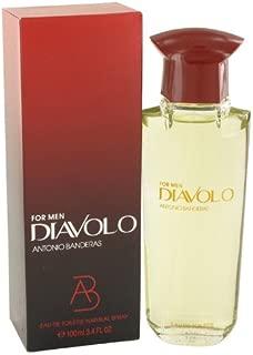 Diavolo by Àñtóníó Báñdérás for Men Eau De Toilette Spray 3.4 oz