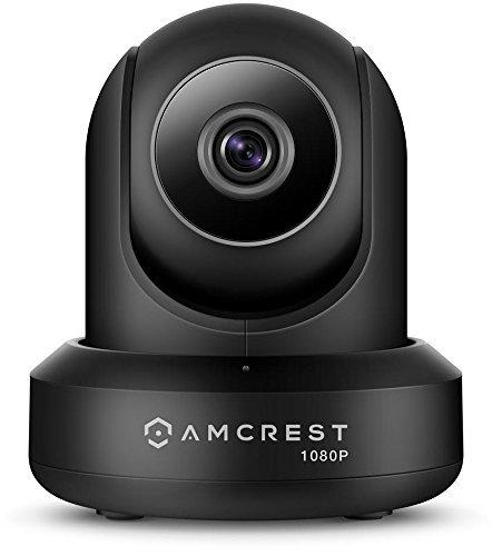 Amcrest 1080P WiFi Überwachungskamera 2MP Indoor Pan / Tilt Wireless IP-Kamera, IP2M-841B (Schwarz)