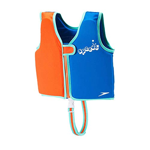 Speedo Unisex-Child Swim Flotation Classic Life Vest Begin to Swim UPF 50 - Discontinued