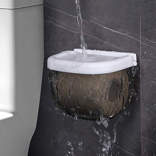 LANKOULI Tissue Box Wasserdichter Toilettenpapierhalter Handy-Aufbewahrungsregal Wandregal