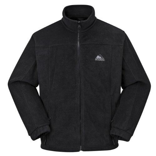 Cox Swain Herren Fleece Jacke TAO - Top Qualität, Colour: Black, Size: L