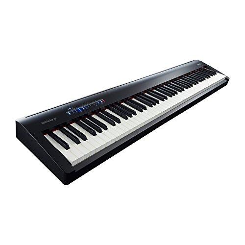Roland SuperNATURAL - Pianoforte digitale portatile (nero) FP-30-BK