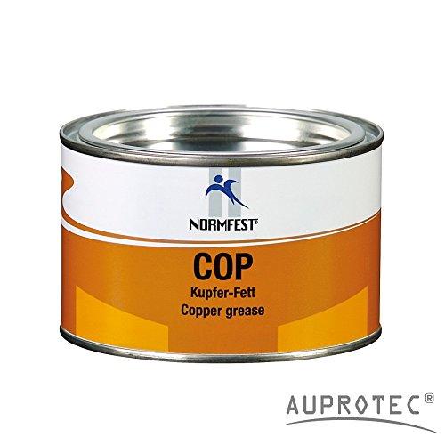 Auprotec® Normfest Kupferfett Cop Kupferpaste Kupfer Schmierfett Hochdruck Bremsen Paste (1 Dose)