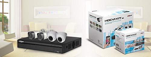 Kit Camera DVR DAHUA HCVR5104HS-S3/2-HFW1200R/2-HDW1200R