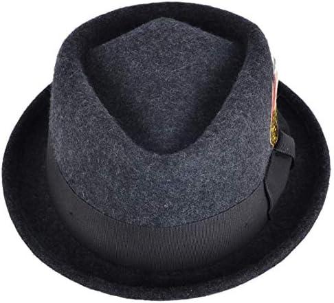 MAZ Chapeau /à tarte en forme de porc avec couronne de diamant /écrasable.