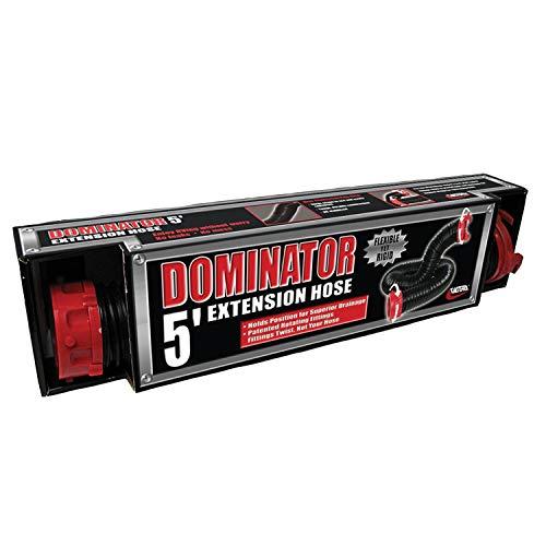 Valterra D040205 D04-0205 Dominator Sewer Hose Extension-5', Black, 5 F