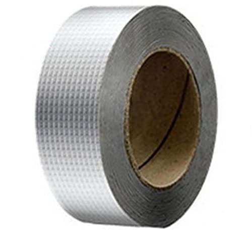 1 Unid Impermeable Cinta Aluminio Reparación Papel Aluminio Cinta Grietas Usadas para Techo con Fugas Superficie Grietas Grietas Ventana Lloras Ventana Tubos Rotos