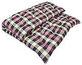 SUGANDHA Large Soft Cotton Single Mattress, 1 Sleeping Capacity (Multicolour, 72X36X4-Inch)