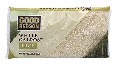 Good Reason White Calrose Rice, 2 Lb