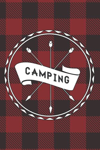 Camping: Summer Camp Journal Sketchbook | Camper Keepsake Notebook for Writing Memories, Stories, Drawing, and Autographs