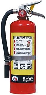 Badger 23463 Extra 5 lb ABC Fire Extinguisher w/ Vehicle Bracket