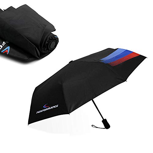 New M Performance M Line Fully Automatic Auto Sport AUTO Open Large Folding Umbrella Windproof Sunshade for BMW
