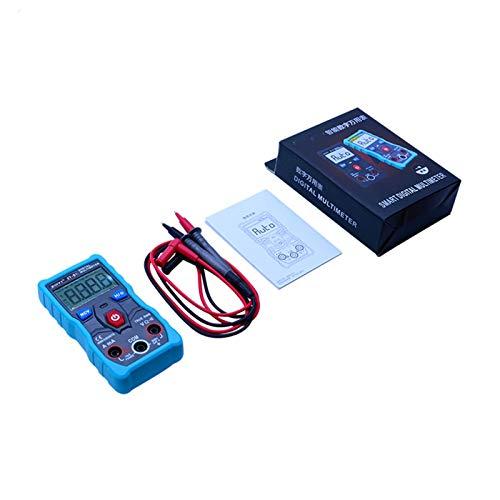 Medidor universal digital Probador de multímetro digital Autorangeado con datos NCV MANTENER LCD retroiluminación + linterna Seguro y exacto (Color : ZT S1WithCase)
