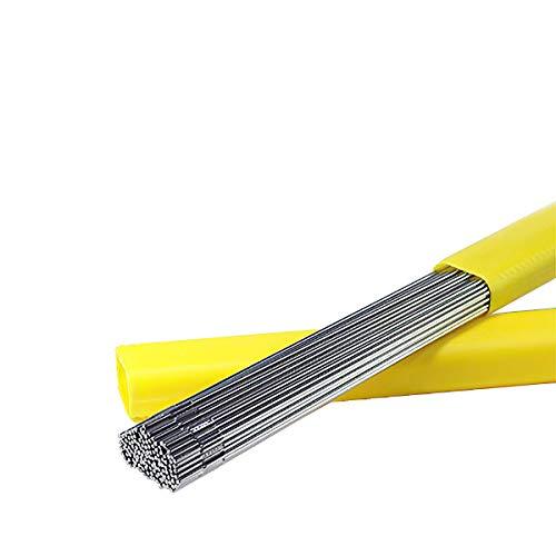 TEN-HIGH Varillas de soldadura TIG de acero inoxidable ER316L de 1 m de longitud, Diámetro 1.6, 2.0,2.5 3,2 mm,1kg,5kg