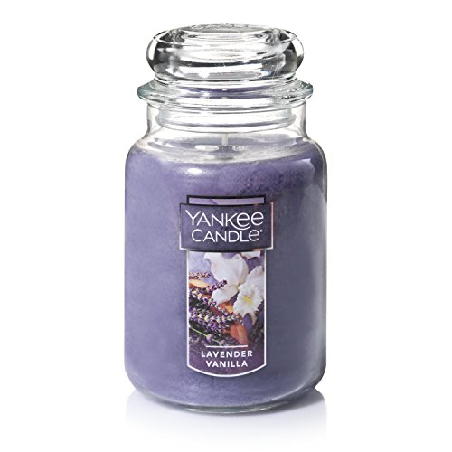 Yankee Candle Large Jar Candle Lavender Vanilla