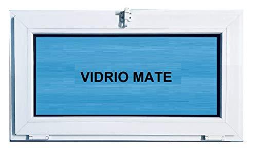 ECO-BLU Ventana Pvc 800 x 500 mm Abatible (Golpete) Climalit