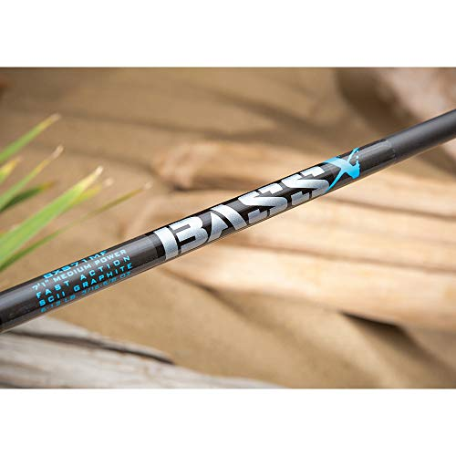 St. Croix BXC71MHF Bass X Graphite Casting Fishing Rod with Split-Grip Cork Handle, 7-feet 1-inch