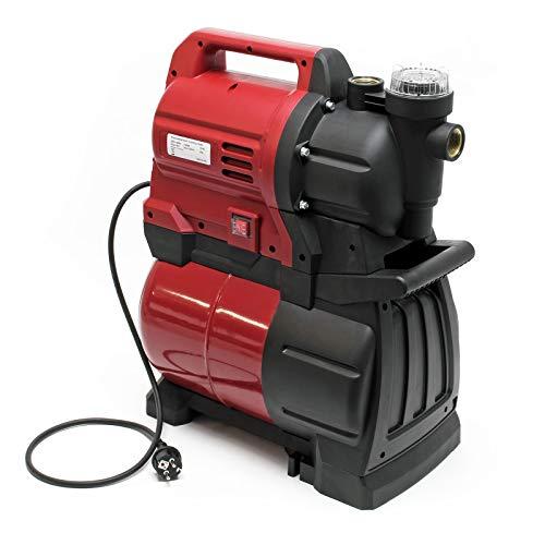 Hauswasserwerk 1300W 4500l/h, Hauswasserautomat mit Druckschalter und 19l Membrankessel