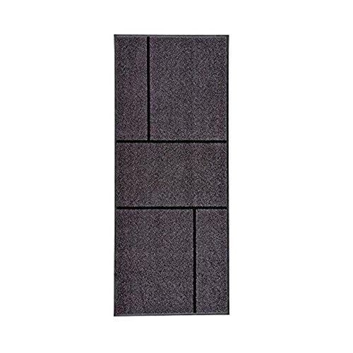 IKEA Koge Paillasson Gris/noir [L : 1,8 m x l : 6 m x 20,3 cm]