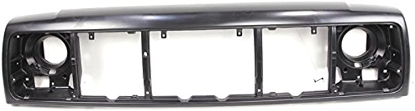 CarPartsDepot, Front Header Panel Mounted Plastic Grille Opening Nose Panel, 404-26108 CH1220115 55055233AE