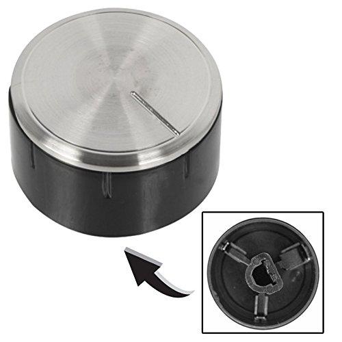 Bosch Oven Cooker Hob Control Knob Switch (Silver / Black)