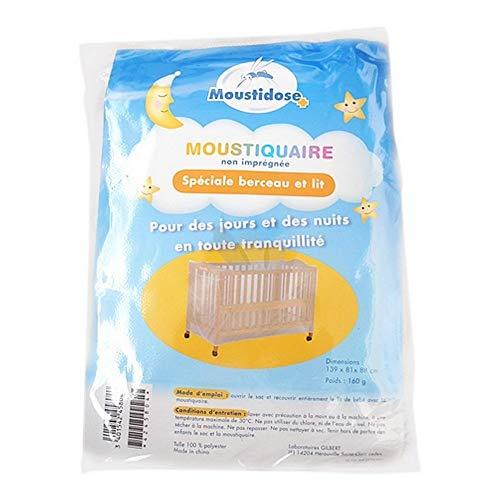Moustidose - Mosquitera para cuna y cama de bebé, no impregnada